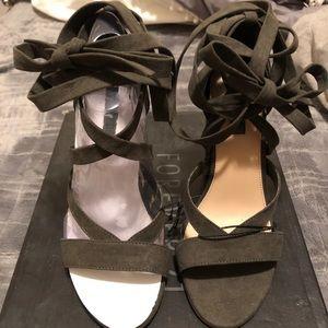 Olive forever 21 heels